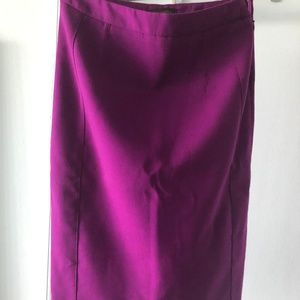 The Limited Purple Pencil Skirt